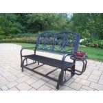 Oakland Living - Lakeville Iron Garden Bench - 6143-HB  SPECIAL PRICE: $273.00
