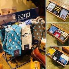🎄 FREE pair of festive Corgi socks with every full priced pair of shoes purchased before Christmas🎄 You can also get 25% off single pairs of Corgi Christmas socks or 3 pairs for the price of 2 if you're stocking up on stocking fillers for the family! In-store in Belfast only. Corgi Socks, Stocking Fillers, Belfast, Messenger Bag, Festive, Satchel, Stockings, Footwear, Pairs