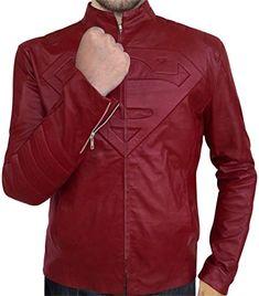 Smallville Superhero Clark Kent Red Daily Jacket Coat Cosplay Costume Customize