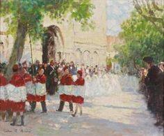 Jules-René Hervé - La Procession #2