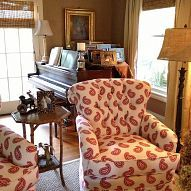 Fresh and fun living room makeover