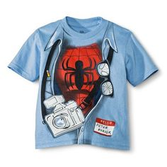 Spider-Man Toddler Boys' Short Sleeve Tee
