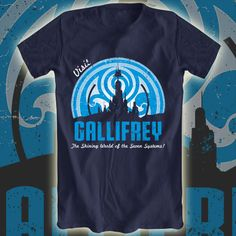 Visit Gallifrey tee now available at Aplentee.com