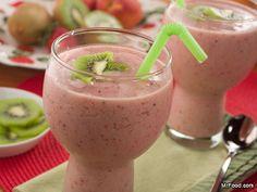 6 Satisfying Summer Smoothies #healthy #breakfast #recipes