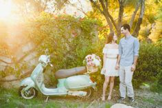 What do Nike's, a basket of pretty blooms, one sweet mint Vespa and skateboards have in common? Why, this adorable e-sesh from Onelove Photography of course! It really doesn't get any cuter than this SMPers. So cozy up and get to know