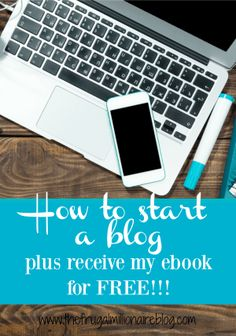 SALE! Buy now for just $2.95/month!! Use my tutorial on how to start a blog and I'll give you my blogging ebook for free! In my book, you'll learn how to get your blog up and running, I'll show you how you can make money blogging right away, and I'll give you dozens of blog prompts and motivation to get you started!!