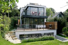Kleingartenhaus Grand Designs, Cool Designs, Bungalow, Model Homes, Architecture Details, Tiny House, House Plans, Interior Decorating, Sweet Home