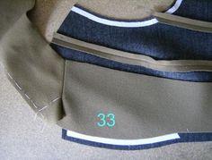 BCN - UNIQUE designer patterns: Tailoring Methods - Sastreria (Revisited and updated). Pants Pattern Free, Suit Pattern, Collar Pattern, Pattern Design, Sewing Men, Sewing Coat, Tailoring Techniques, Sewing Techniques, Sewing Collars