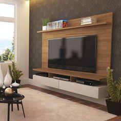 Painel para TV 50 1.8 Zeus Natural e Off-White