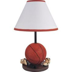 "Milton Green Star Youth Basketball 15.75"" H Table Lamp with Empire Shade"
