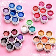 31 x Professional UV Color Gel False Nail Art Set New   eBay