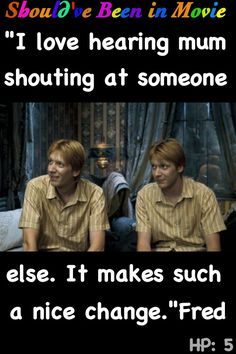 Harry Potter and the Order of the Phoenix Should've Been in Movie Fred and George funny Mrs. Weasley Mundungus