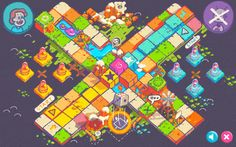 Mobile Board Game Design: Ludo on Behance Board Game Design, Game Ui Design, Game Dev, Game Concept, Game Assets, Mobile Game, My Drawings, Board Games, Character Design