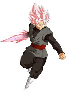 Goku Black Ssj Rose Wallpaper Gratis | Descargar Imagenes De Goku