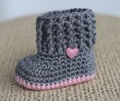 crochet baby booties - Google Search