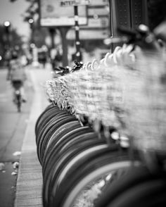 Bicycles parked on the streets of Paris in black and white.  Shot with a Sony a6300 and a Sony 70-200mm f/4 lens. 1/320sec | f/4 | ISO 320 | 177mm.     #travelphotography #travel  #igdaily #igtravel #pictoftheday #instamood #instalike #theimaged #global_hotshotz #beautifuldestinations #passionpassport #thevisualscollective #createexplore #awesome_earthpix #worldshotz #justgoshoot #igmasters #exklusive_shot #awesomeearth  #sonyalpha #sonyimages #sony_photogallery #paris #blackandwhite…