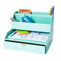 Alternative product image #3 for Martha Stewart Drawer with Inbox Blue