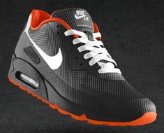 The arrival of the the Nike Air Max 90 Hyperfuse, boasting no-sew construction on an upper built with three layers of Fuse material, represented the latest Nike Air Max 90s, Nike Air Jordans, Tenis Nike Air Max, Air Max Sneakers, Sneakers Mode, Best Sneakers, Sneakers Fashion, Nike Sneakers, Fashion Boots
