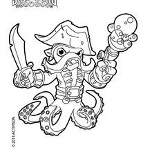 Force Coloring Pages More Noah S Skylanders Style