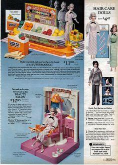 Oh gosh, forgot I had this beauty salon.  1975-xx-xx Sears Christmas Catalog P441 by Wishbook, via Flickr