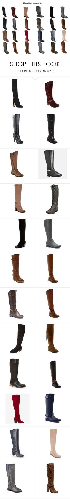 """Find Your Perfect Pair of Boots for Fall"" by sade-aladejana-lewis on Polyvore featuring Ivanka Trump, G by Guess, Vince Camuto, Franco Sarto, Kelsi Dagger Brooklyn, LifeStride, Very Volatile, Andrew Geller, Steven by Steve Madden and Timberland"