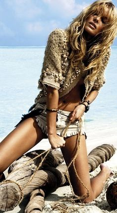 "Cristina Tosio | Elle Croatia June 2010 | ""Fashion Shipwreck"""