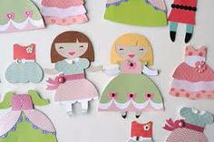 magnetic paper dolls - Google Search