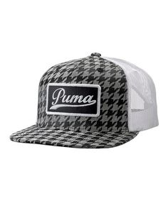 PUMA Charcoal Shophand Snapback Trucker Hat - Women   Men f499ff5484d