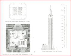 Structural Model, Taipei 101, Futuristic Architecture, Floor Space, Facade, Projects To Try, Floor Plans, How To Plan, Futurism