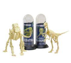 Mammoth and Dinosaur puzzle