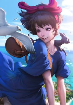 Kiki and Jiji by Artgerm | Stanley Lau *