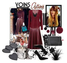 """""""YOINS CONTEST"""" by ramiza-rotic ❤ liked on Polyvore featuring Topshop, Betty Jackson, BERRICLE, outfit, Sweater, skirts and yoins"""