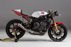 TZ750 inspired custom Yamaha R1 build for Wayne Rainey - No Fiberglass Bodywork