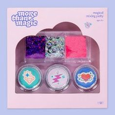 More Than Magic™ Magical Mixing Putty Kit : Target Diy Crafts For Adults, Easy Diy Crafts, Fun Crafts, Diy Projects For Bedroom, Kids Makeup, Sparkles Glitter, Resin Crafts, Stationery, Christmas Stocking
