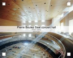 @boulezsaal will serve as a home for the Barenboim-Said Akademie, a musical school founded to train young musicians from the Middle East. Designed in collaboration with world-renowned acoustic engineer Yasushisa Toyota.