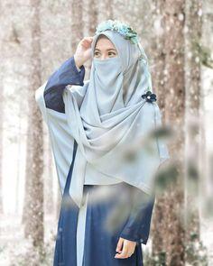 Hijab Chic, Hijab Musulman, Beau Hijab, Hijab Style, Mode Niqab, Mode Abaya, Hijab Fashionista, Hijabi Girl, Girl Hijab