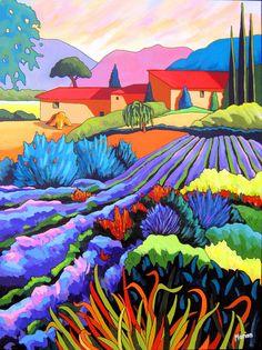 Jardins de provence - Louise Marion