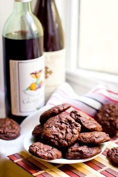 Chocolate & Red Wine Cookies