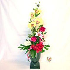 EVRY Composición de flores artificiales. (83 e)