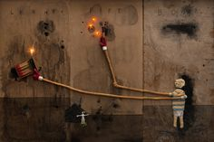 David Lynch new solo exhibit in NY @ Tilton Gallery