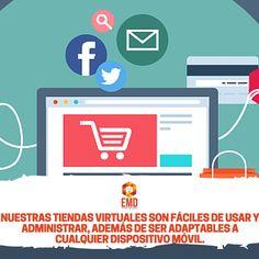 Tiendas virtuales, la opción que estabas buscando para abrir nuevos canales de venta. #EMD #MarketingDigital