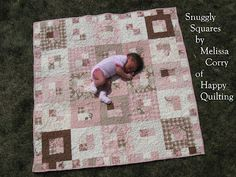 Layer Cake Baby Quilt Pattern