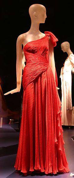 Dress  Valentino (Italian, born 1932)  Date: spring/summer 1987 Culture: Italian Medium: silk, synthetic