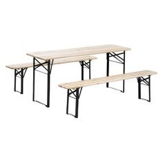 Found it at Joss & Main - 3 Piece Outdoor Folding Picnic Table Set