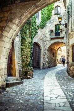 Picturesque street in Costa Brava. Photo by See Spain. The Places Youll Go, Places To Go, Begur Costa Brava, Beautiful World, Beautiful Places, Travel Around The World, Around The Worlds, Spain Travel, Places To Travel