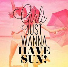 Wanna have sun