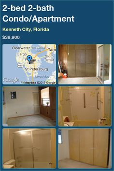 2-bed 2-bath Condo/Apartment in Kenneth City, Florida ►$39,900 #PropertyForSale #RealEstate #Florida http://florida-magic.com/properties/7584-condo-apartment-for-sale-in-kenneth-city-florida-with-2-bedroom-2-bathroom