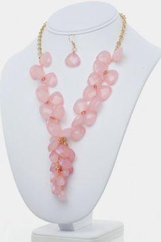 Cherry Blossom Necklace Set  Refer a Friend for a $300 Shopping Spree!