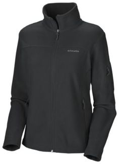 Columbia Fleece Jacket -- gotta have more than one! Another draft-buster.