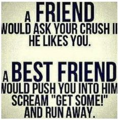 BEST FRIEND QUOTES FUNNY PICTURES image quotes at hippoquotes.com